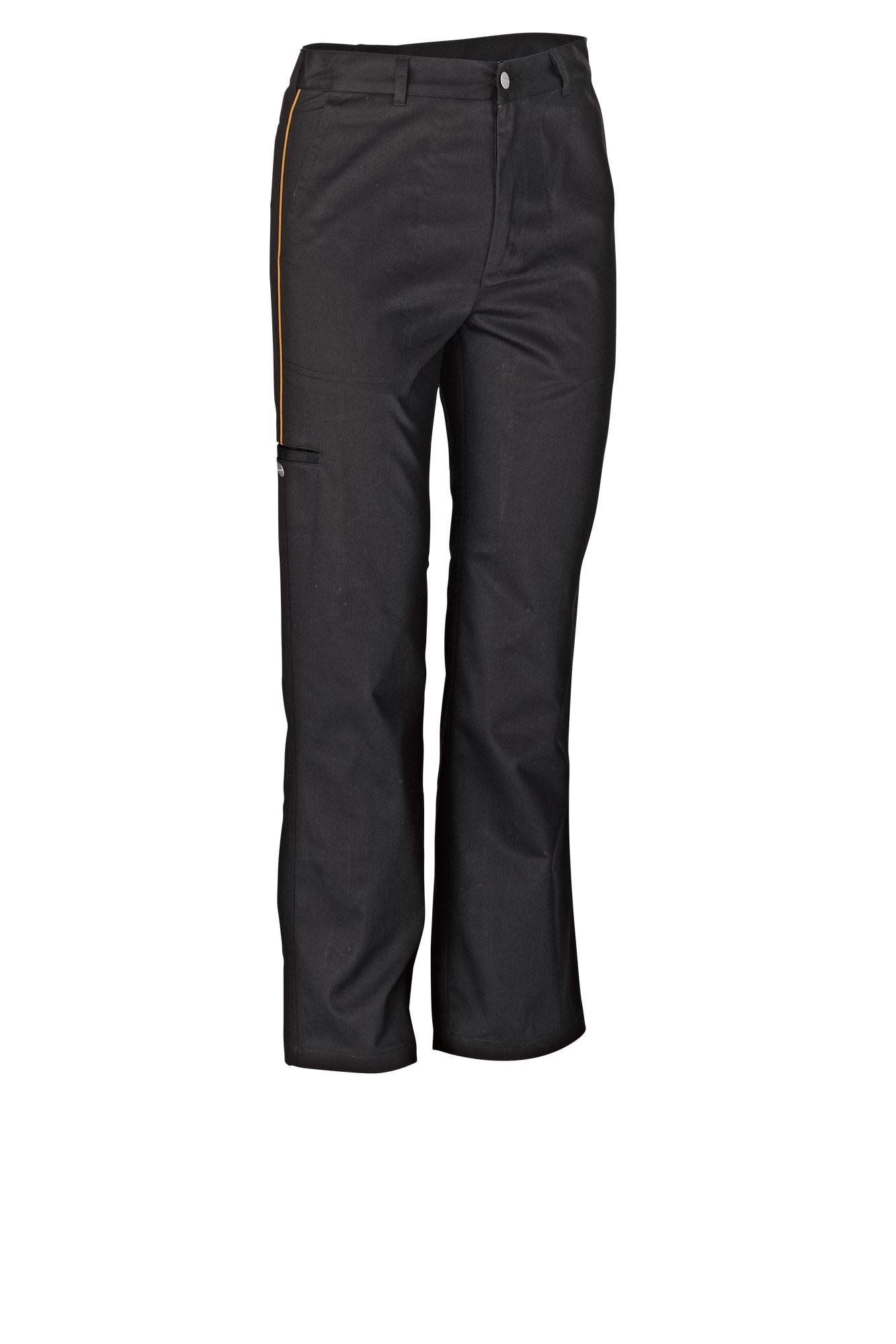Pánské kalhoty Colin - černá/lem mango