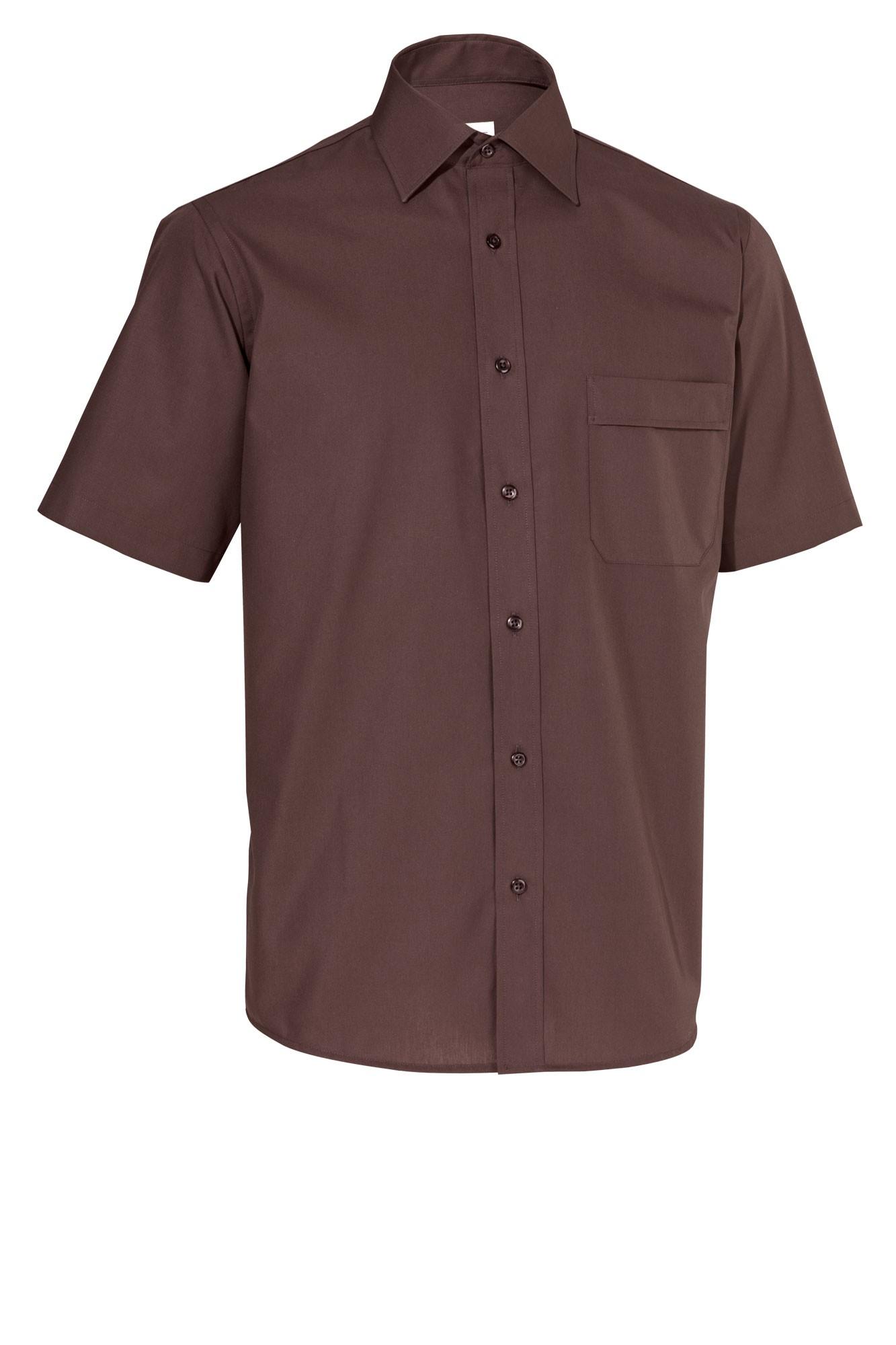 Pánská košile Marc - coca/krátký rukáv