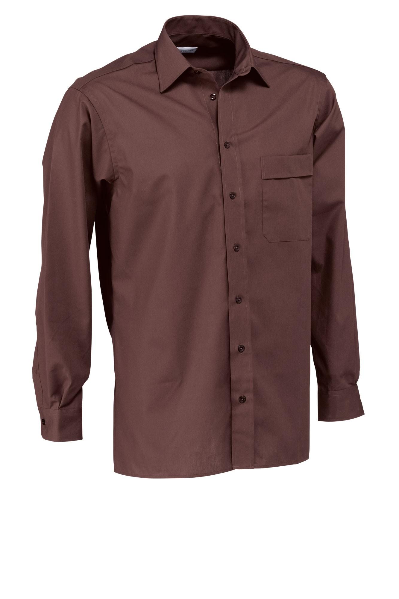 Pánská košile Marc - coca/dlouhý rukáv