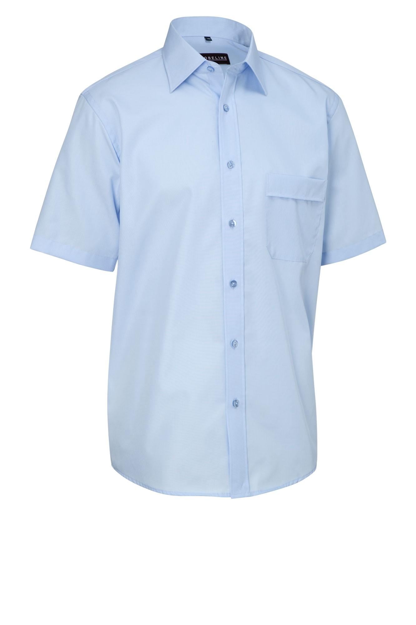 Pánská košile Marc - sv. modrá/krátký rukáv