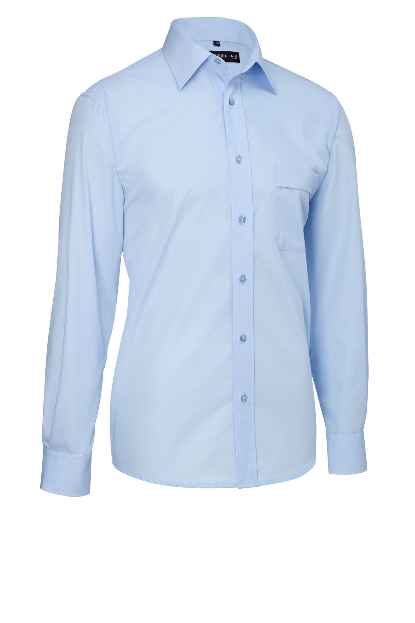 Pánská košile Marc - sv. modrá/dlouhý rukáv