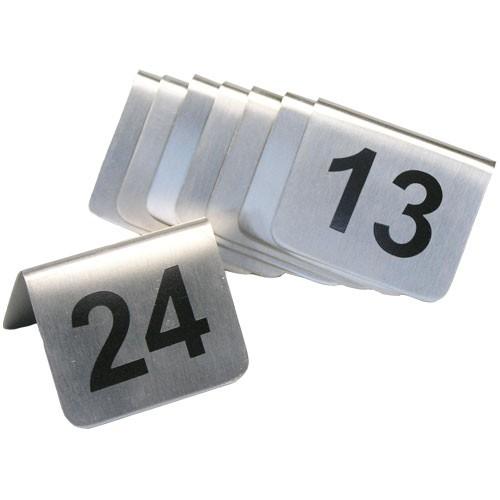 Stojánky s čísly 13 - 24