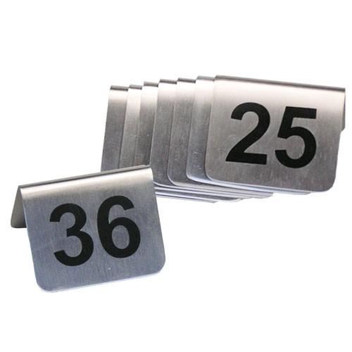 Stojánky s čísly 25 - 36