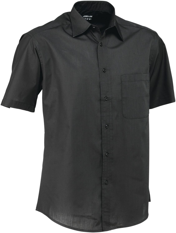 Pánská košile Rico - černá/krátký rukáv