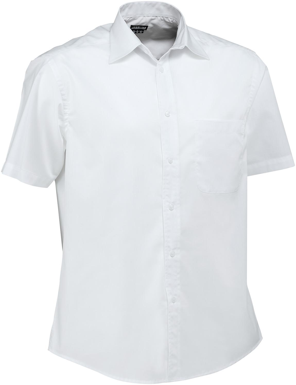 Pánská košile Rico - bílá/krátký rukáv