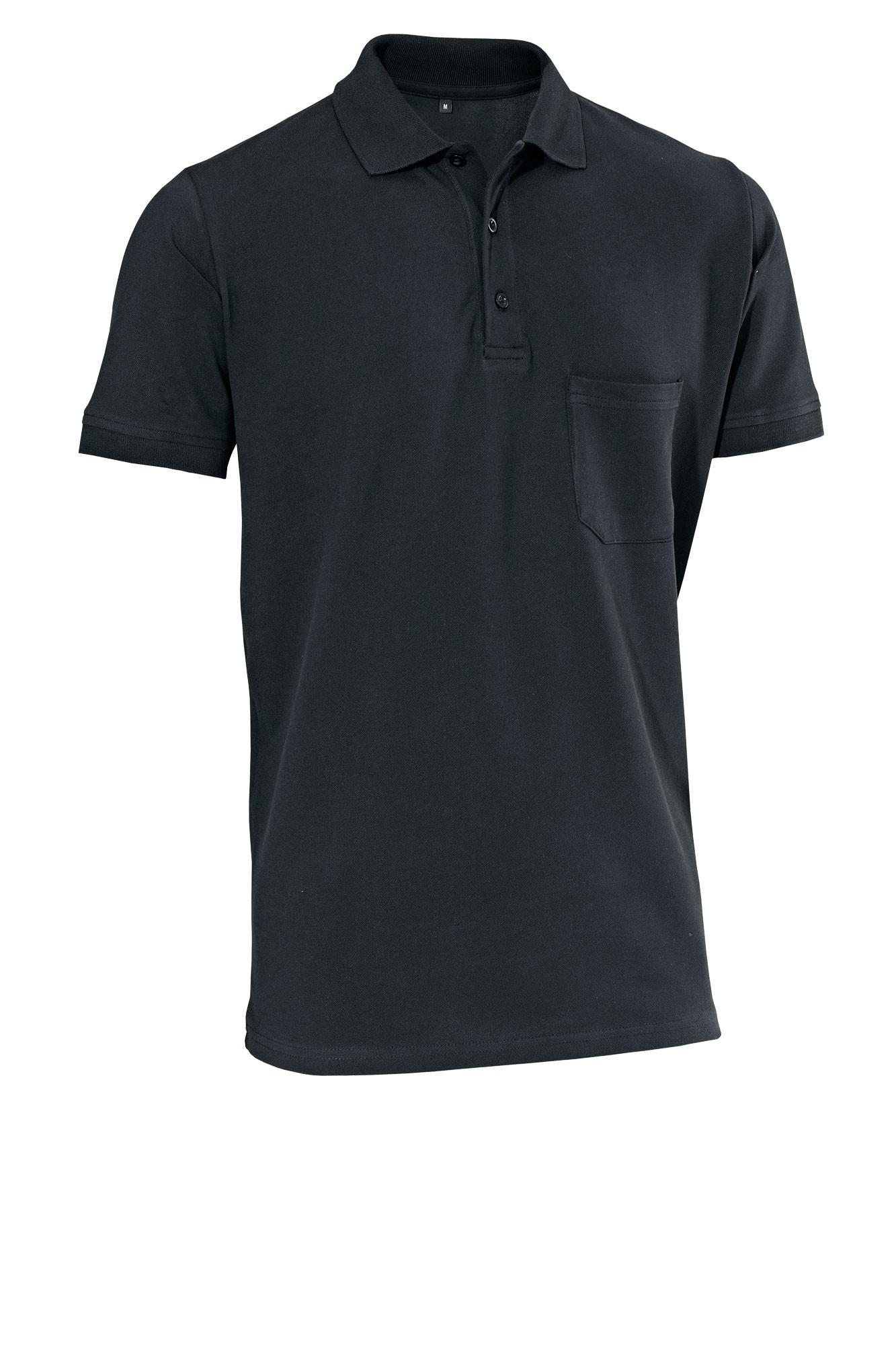 Pánské tričko Cato - černá/krátký rukáv