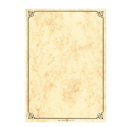 Vkládací papíry  s rámečkem