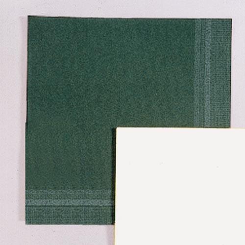 Papírové ubrousky s okrajem - zelená