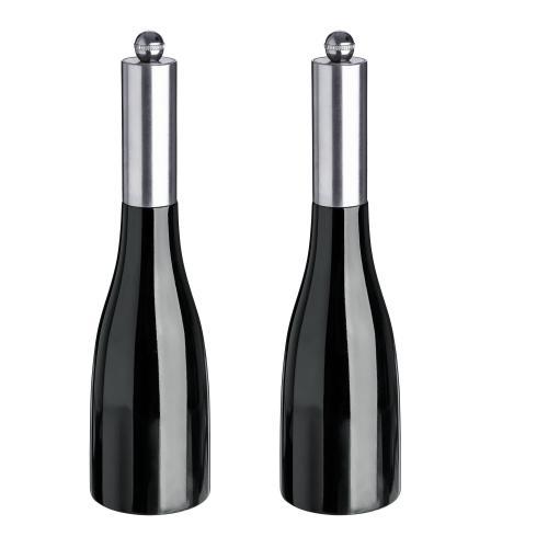 Mlýnek na sůl/pepř Nutima, 23,5 cm - černá