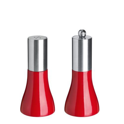 Mlýnek na sůl/pepř Nutima, 11,5 cm - červená