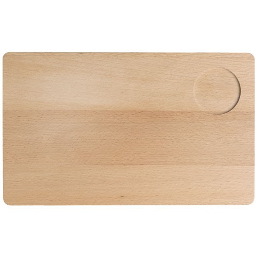 Dřevěné servírovací prkénko Vesper, se zářezem, buk