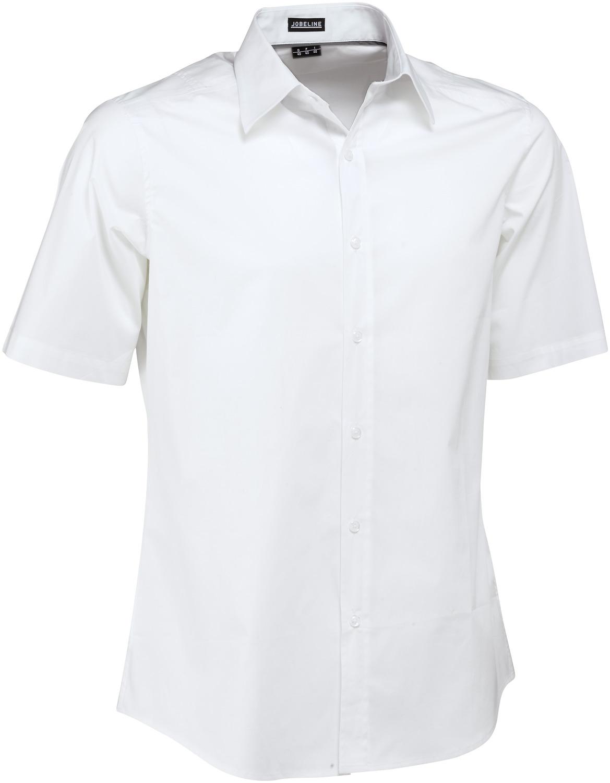Pánská košile Bruce - bílá/krátký rukáv