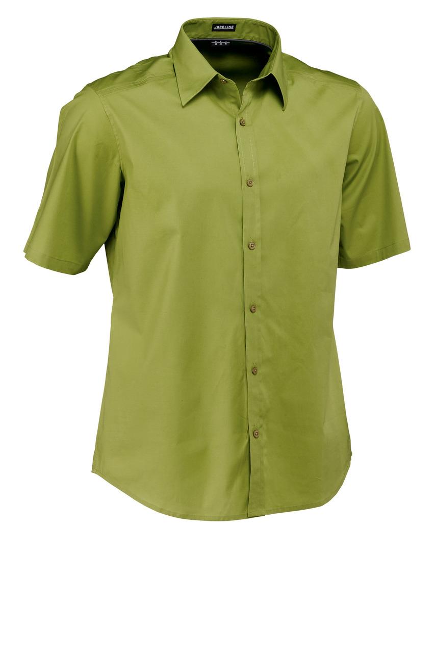Pánská košile Bruce - mechová/krátký rukáv