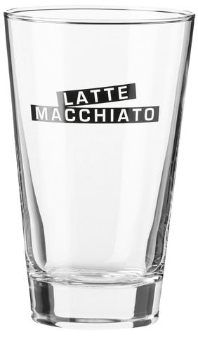 Sklenice na Latté Macchiato