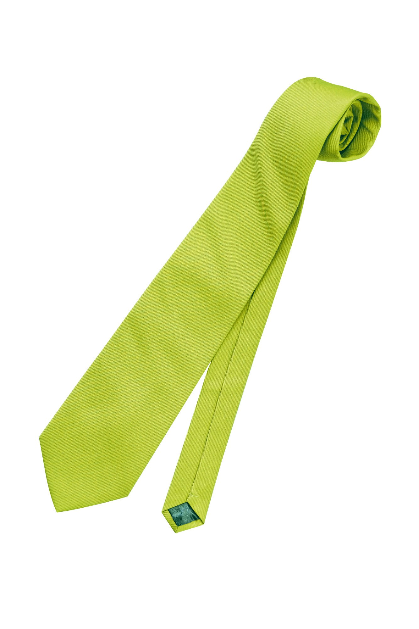Kravata Bo - zelené jablko