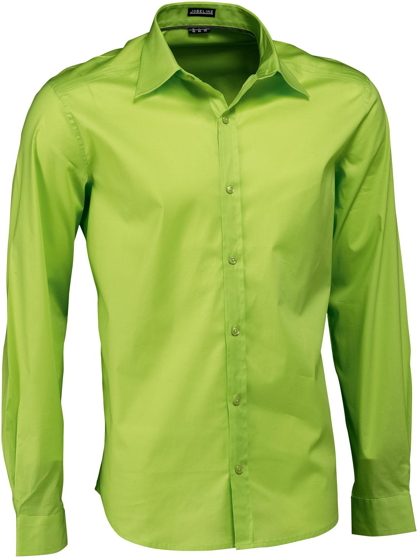 Pánská košile Bruce - zelené jablko/dlouhý rukáv
