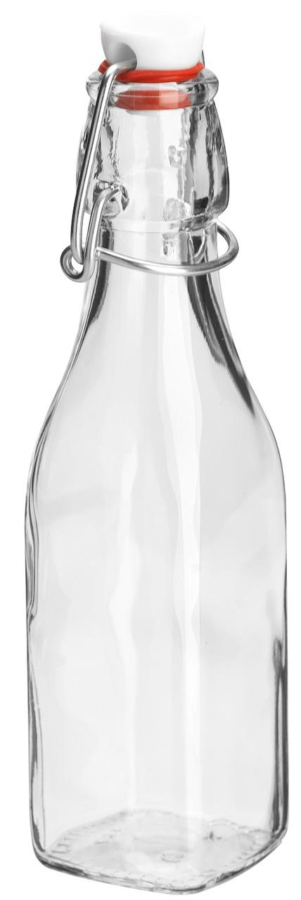 Skleněná uzavíratelná láhev JUINA, 0,27l