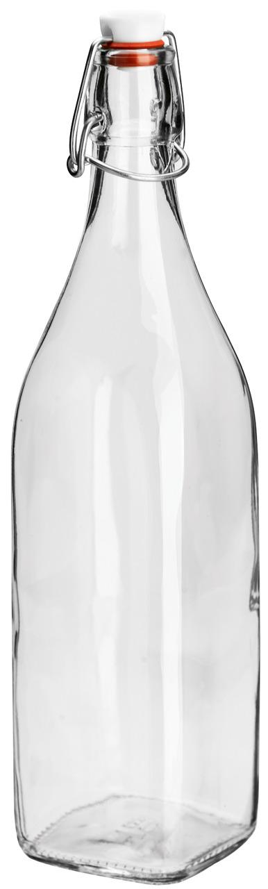 Skleněná uzavíratelná láhev JUINA, 1,1l