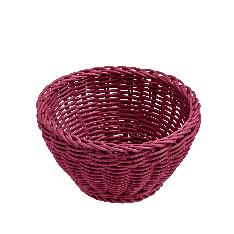Košík Igato, ostružinový, kulatý