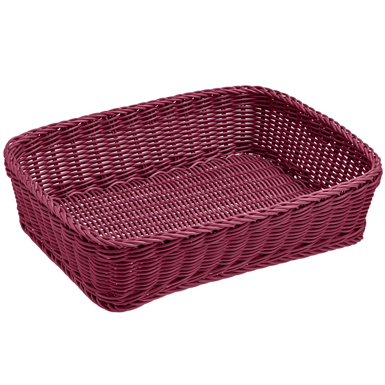 Košík Igato, ostružinový, hranatý