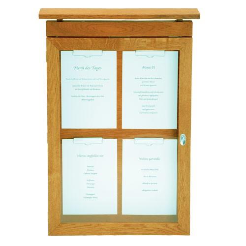 Menu dřevěná skříňka VAN GOGH