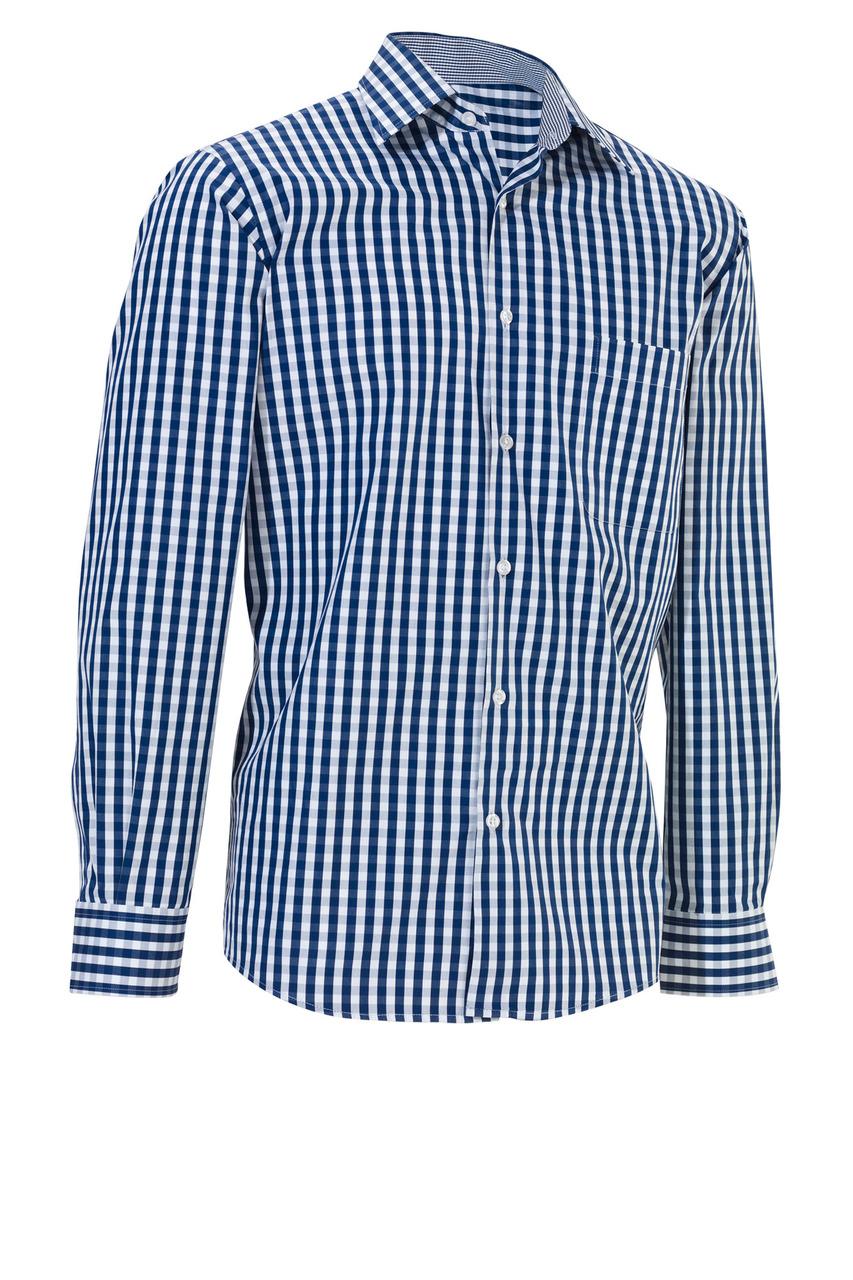Pánská košile Kilian - modrá/dlouhý rukáv