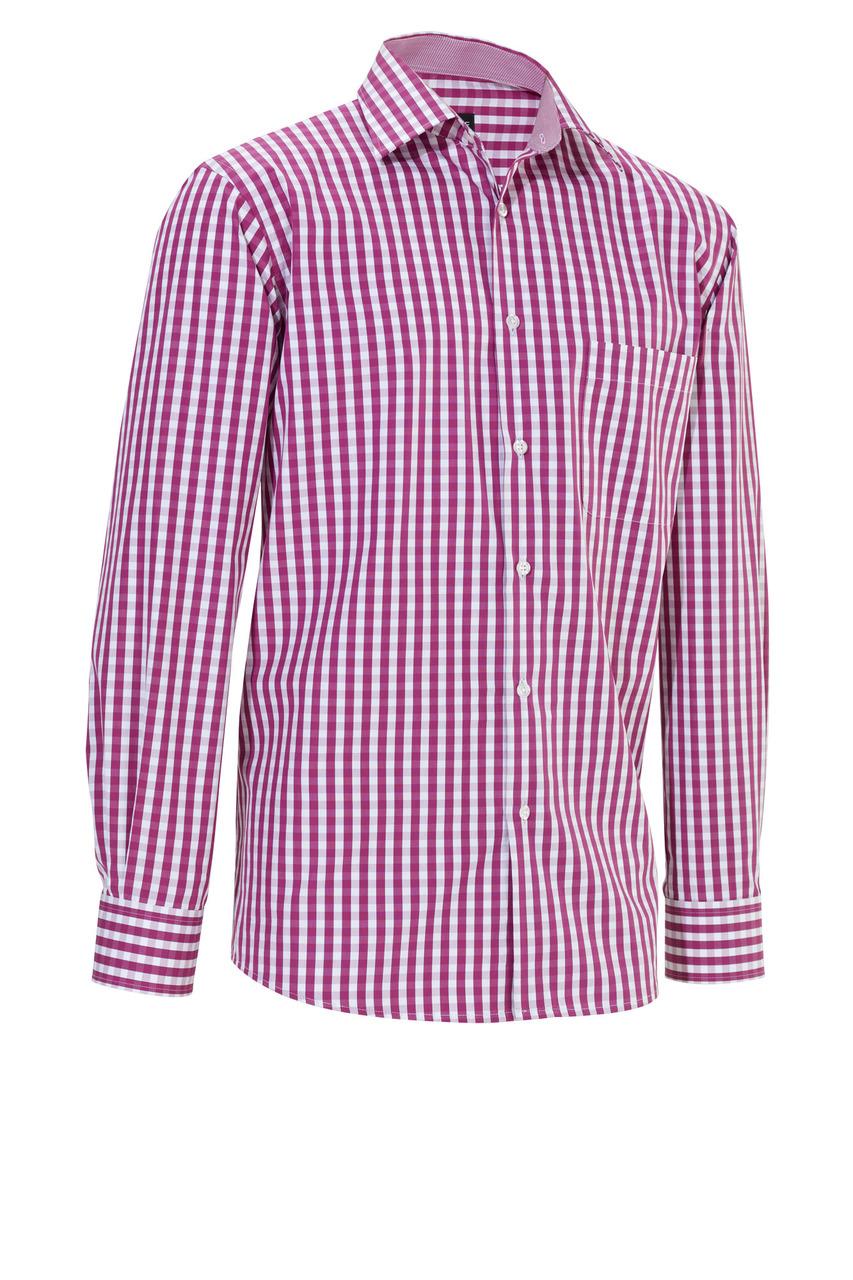 Pánská košile Kilian - ostružinová/dlouhý rukáv