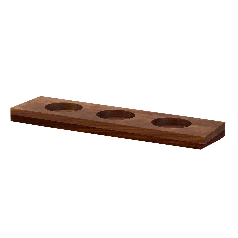 Dřevěná podložka Angulo, 28x8 cm