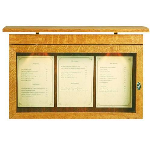 Menu skříňka na zeď Van Gogh, 80x52 cm - natur