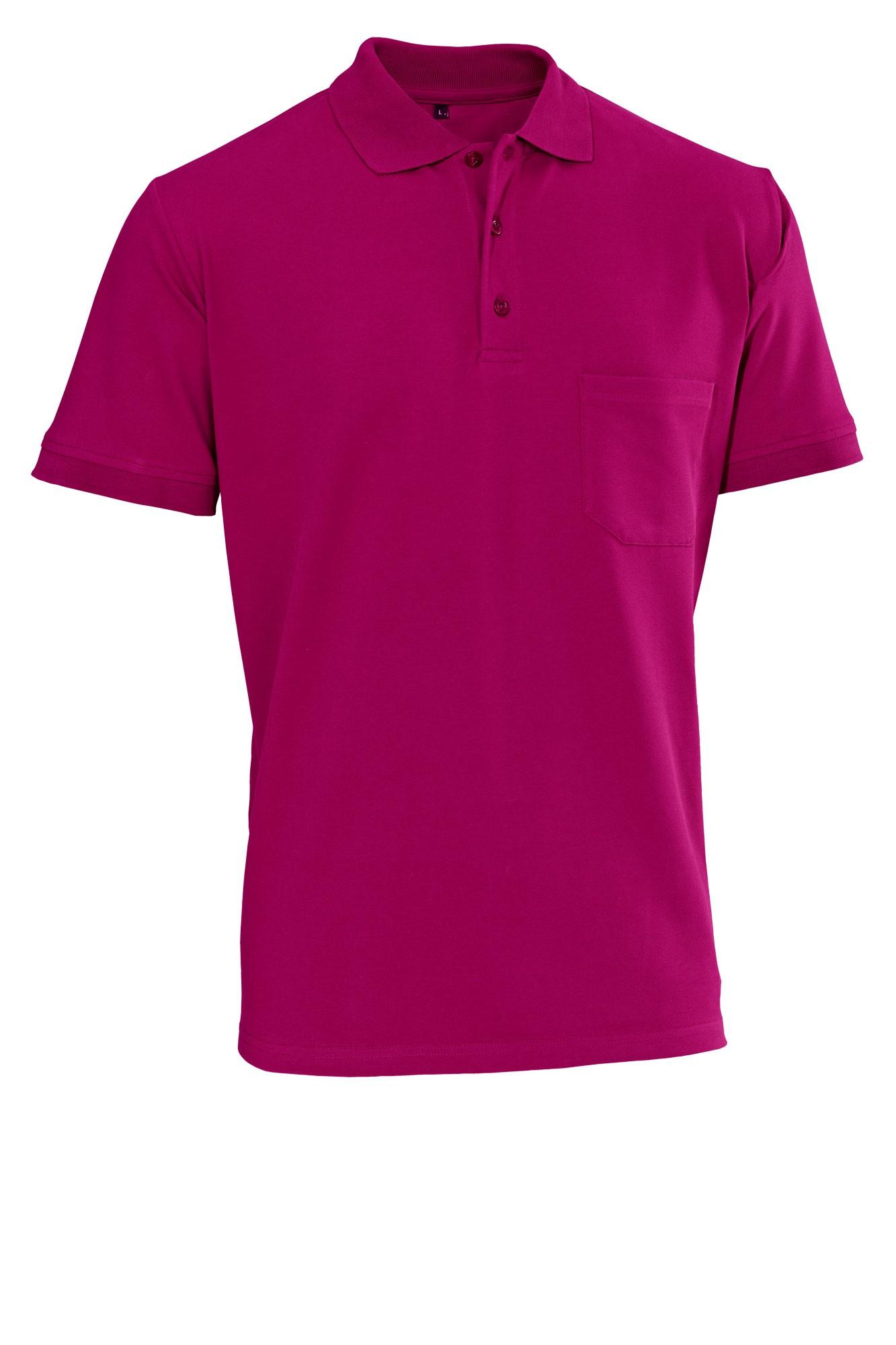 Pánské tričko Cato - ostružinová/krátký rukáv