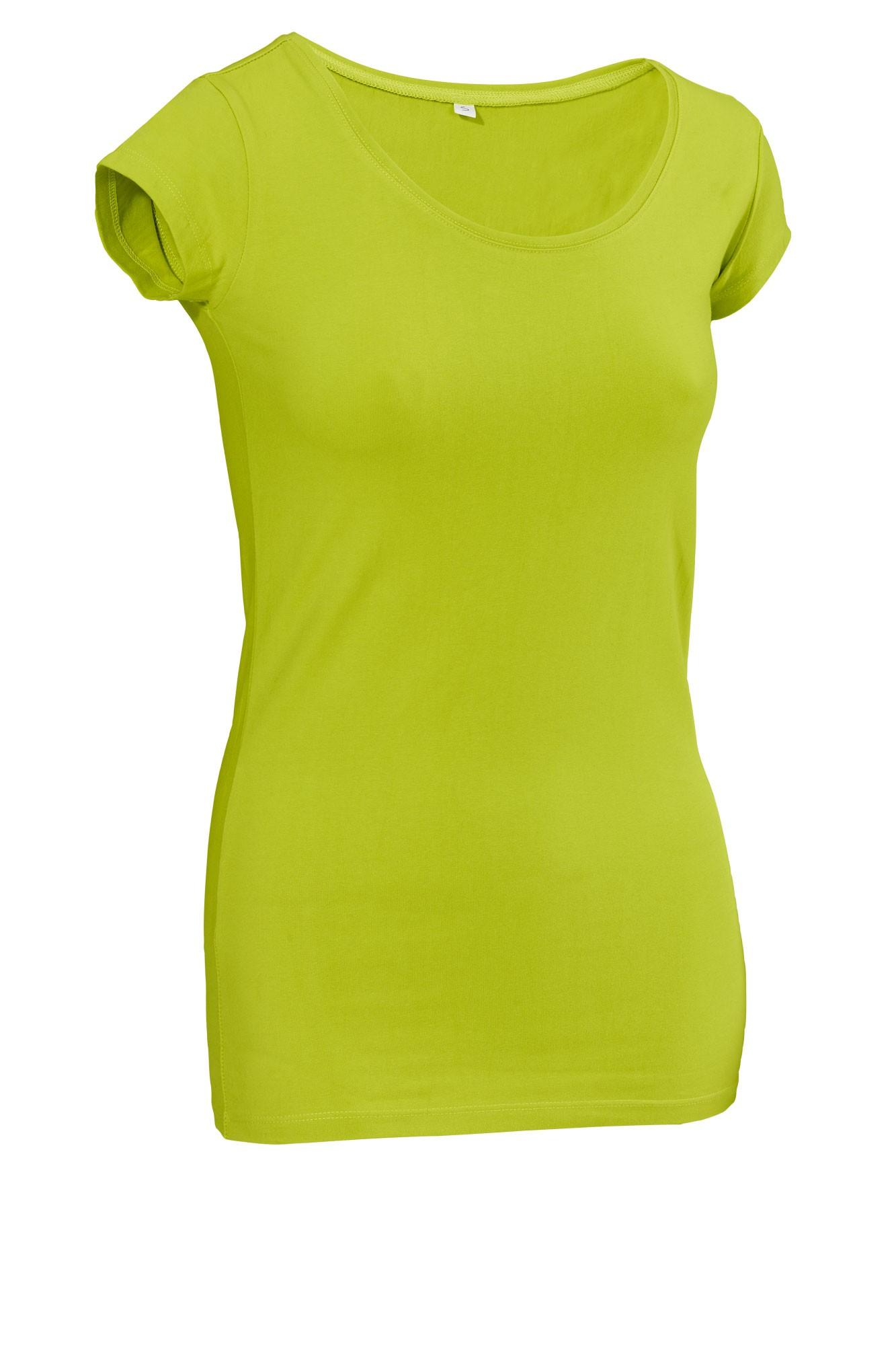 Dámské tričko Double - krátký rukáv/světle zelená