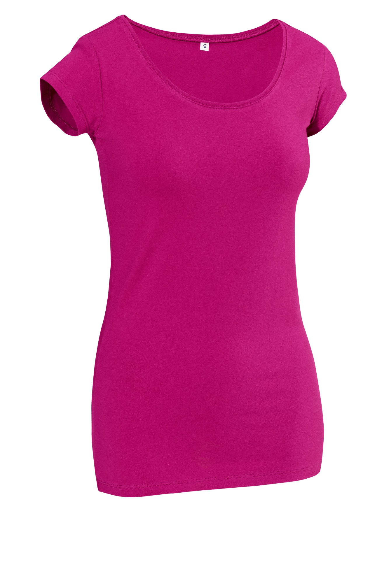 Dámské tričko Double - krátký rukáv/ostružinová