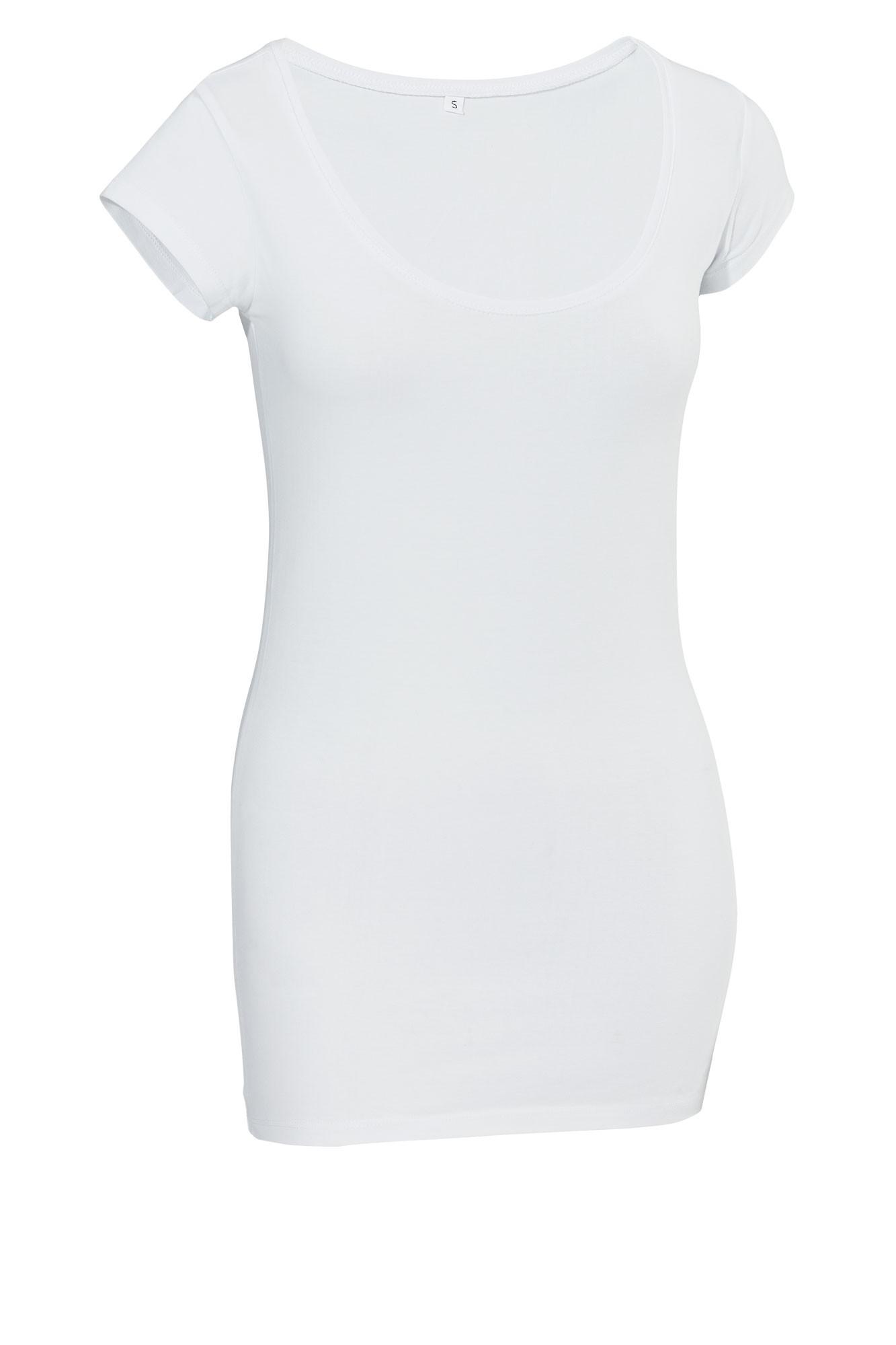Dámské tričko Double - krátký rukáv/bílá