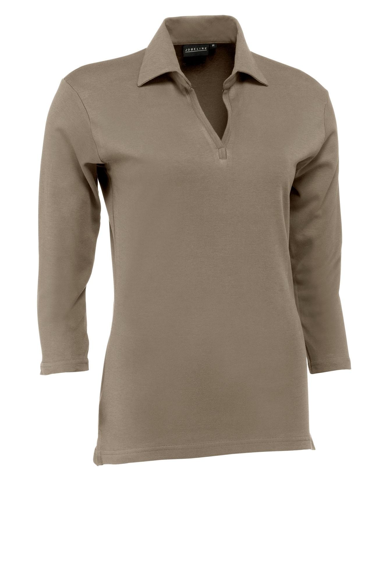 Dámské tričko Chiara - šedohnědá