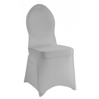 Grace - potah na banketní židli - bílá