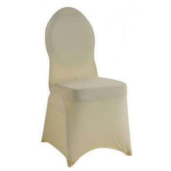 Grace - potah na banketní židli - krémová