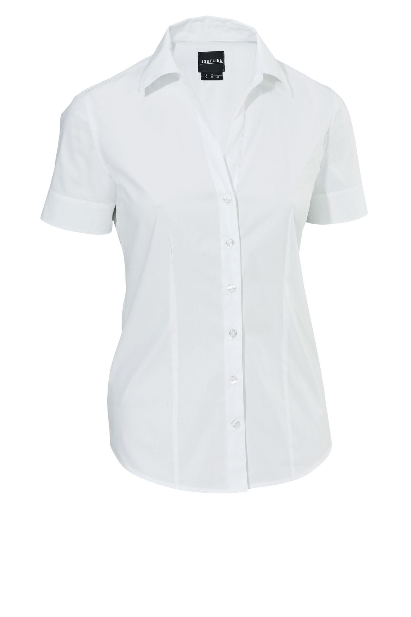 Dámská blůza Cecaria - bílá/krátký rukáv