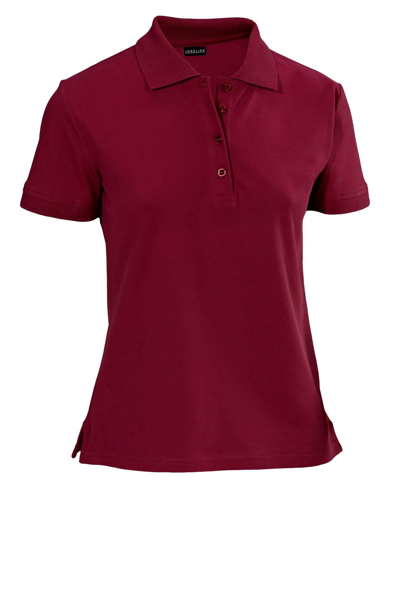 Dámské tričko Cato - bordó/krátký rukáv