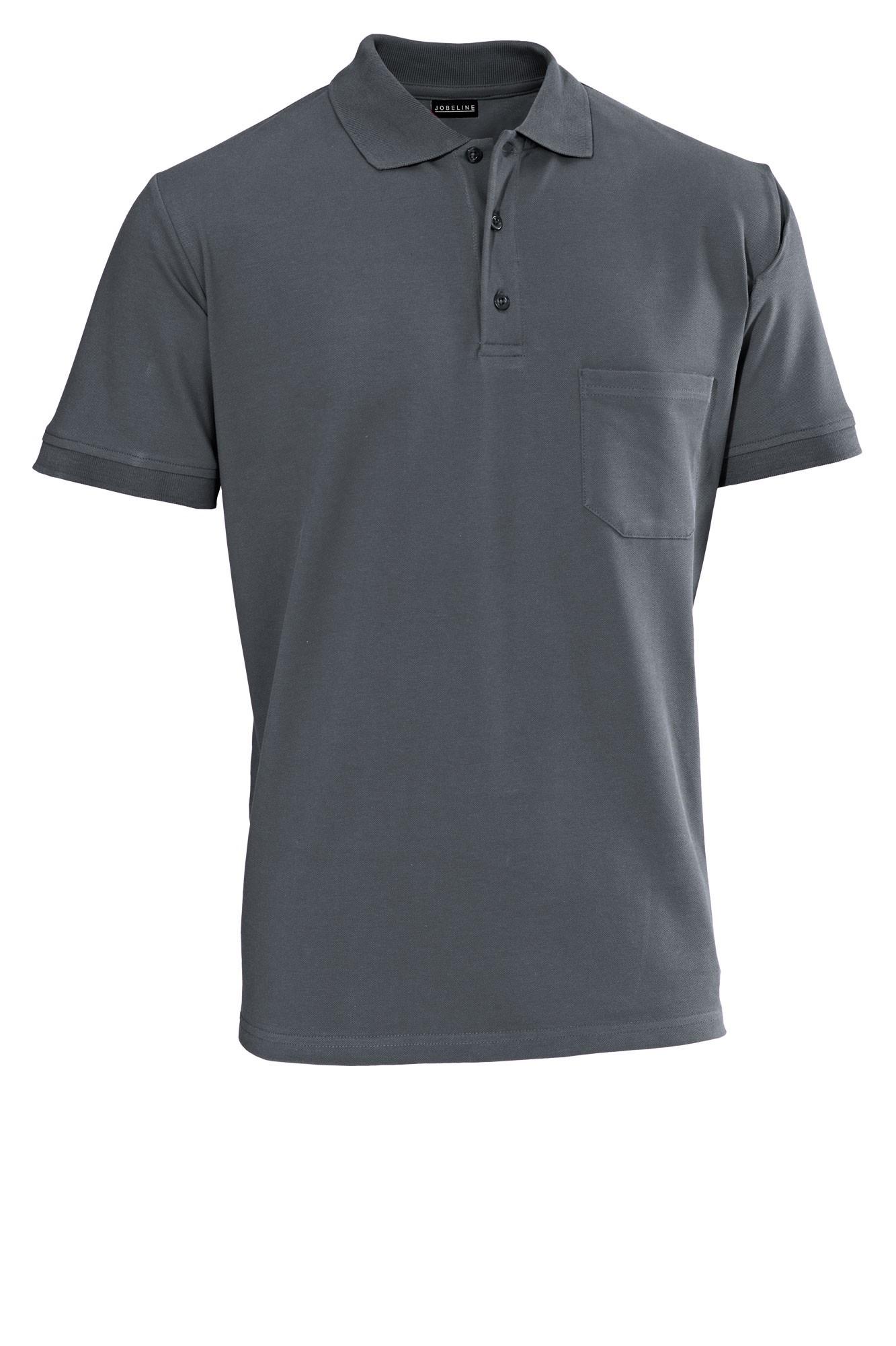Pánské tričko Cato - šedá/krátký rukáv