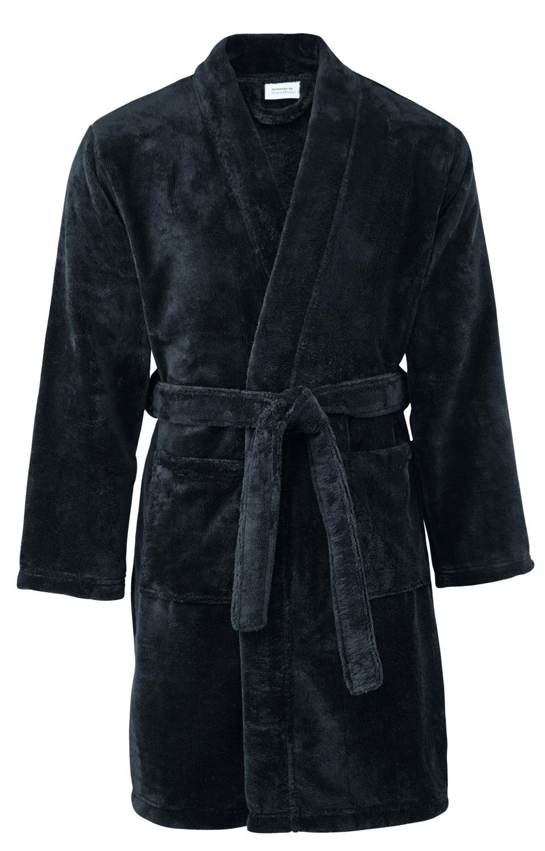 Koupací plášť - Neapel, černá