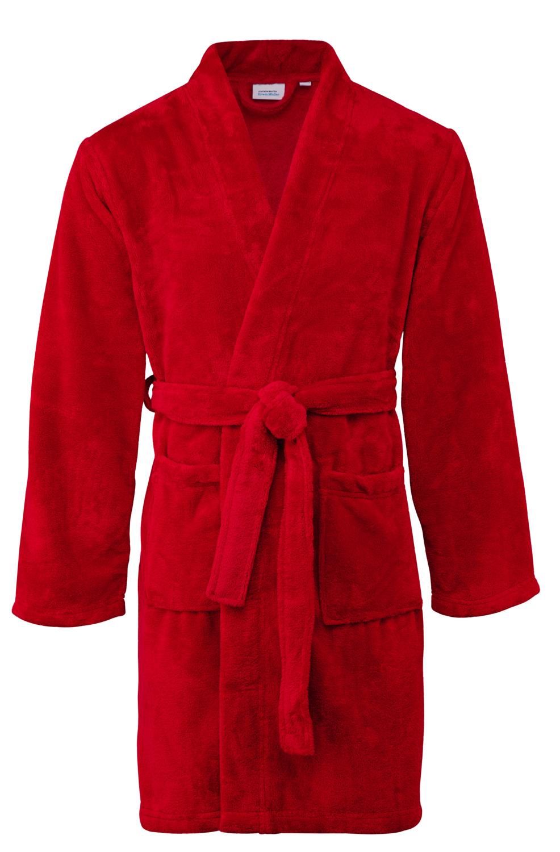 Koupací plášť - Neapel, červená