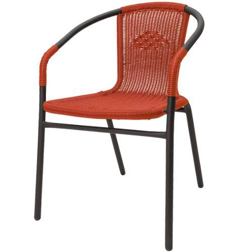 Židle Amigo, červená