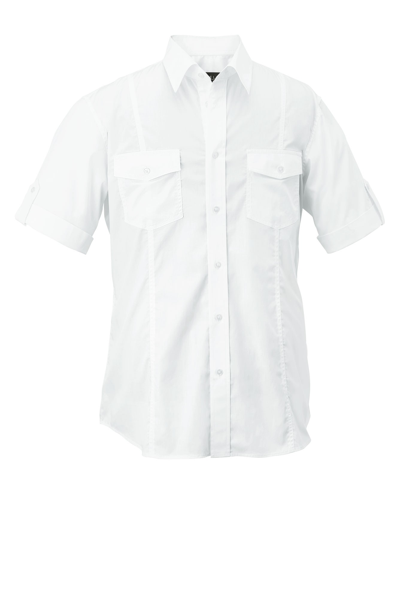 Pánská košile Jules - bílá/krátký rukáv