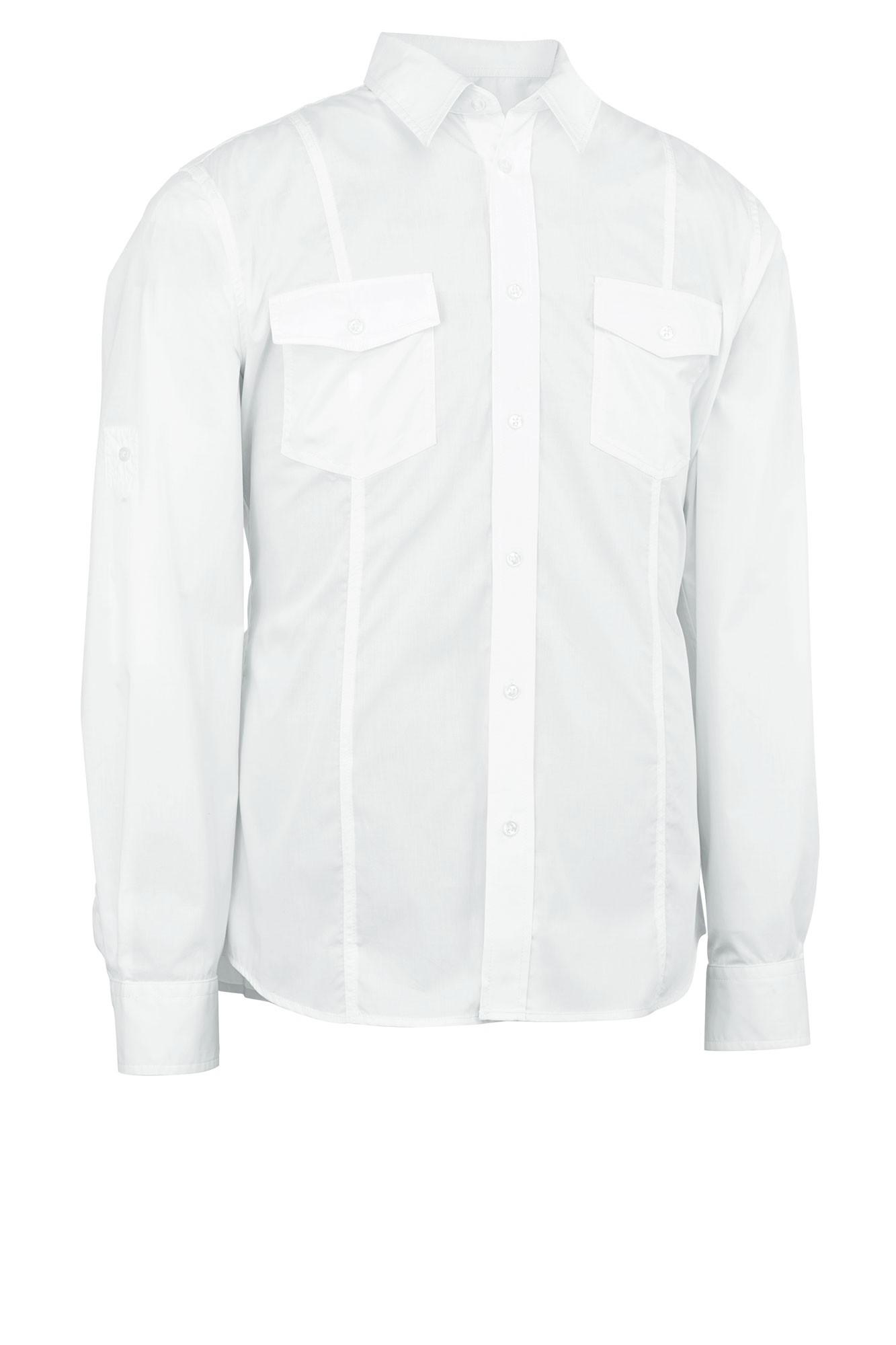 Pánská košile Jules - bílá/dlouhý rukáv