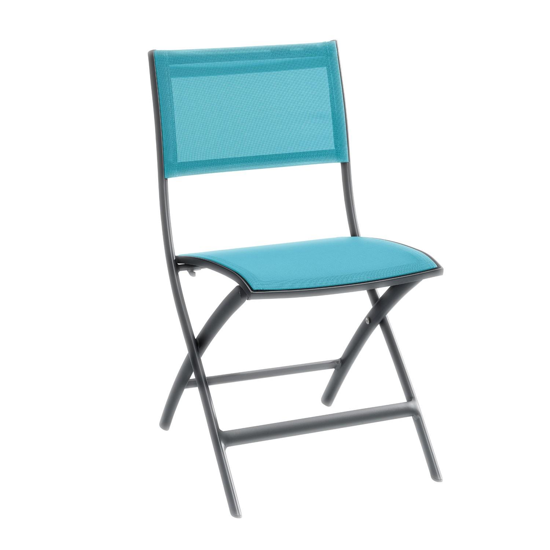 Židle Belize - petrolejová/antracitová