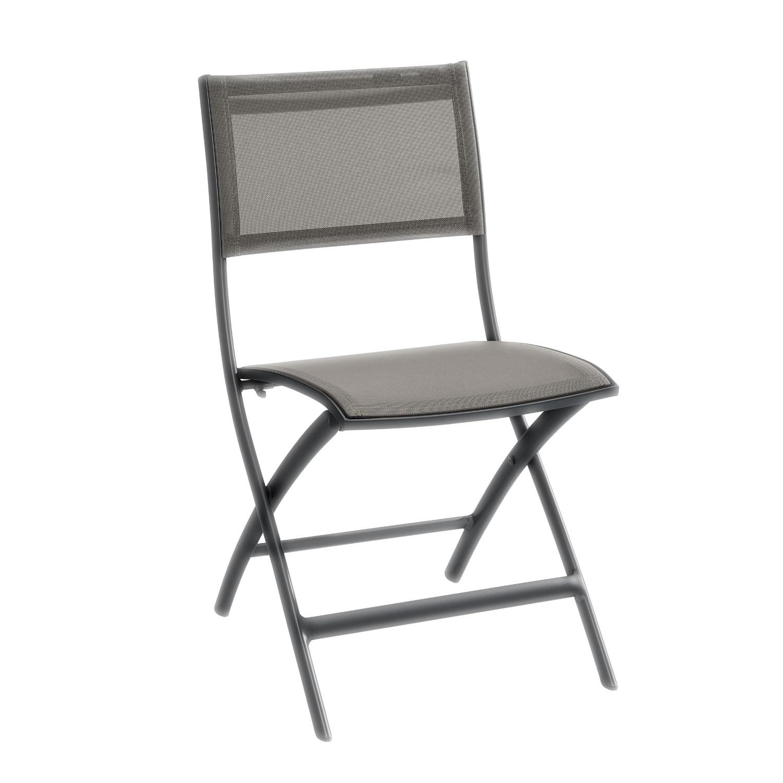 Židle Belize - šedohnědá/antracitová