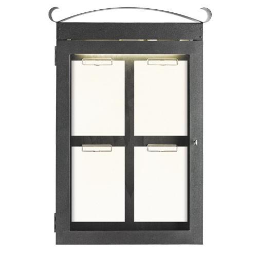 Menu skříňka Klimt, 59,5x87 cm - zahnutá skříňka
