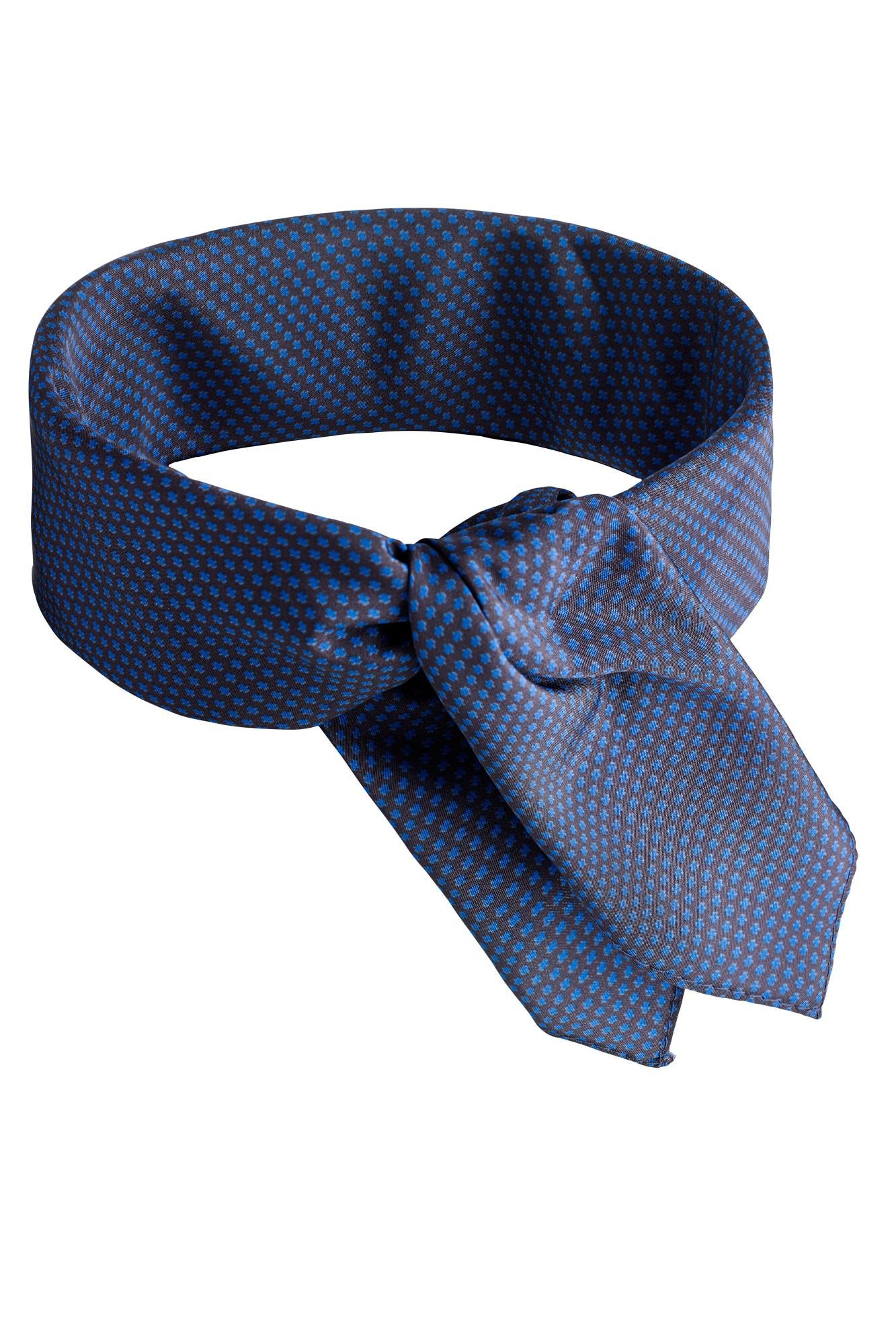 Šátek Karo - modrý