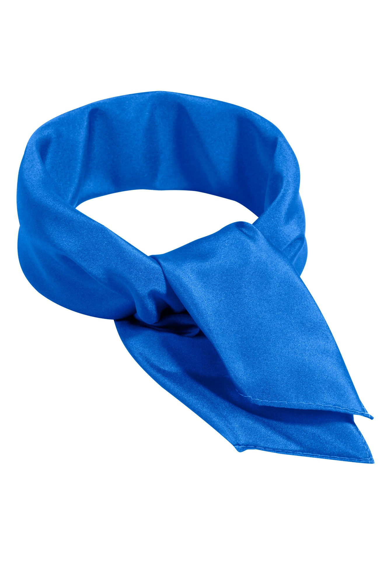 Šátek Uni - modrý