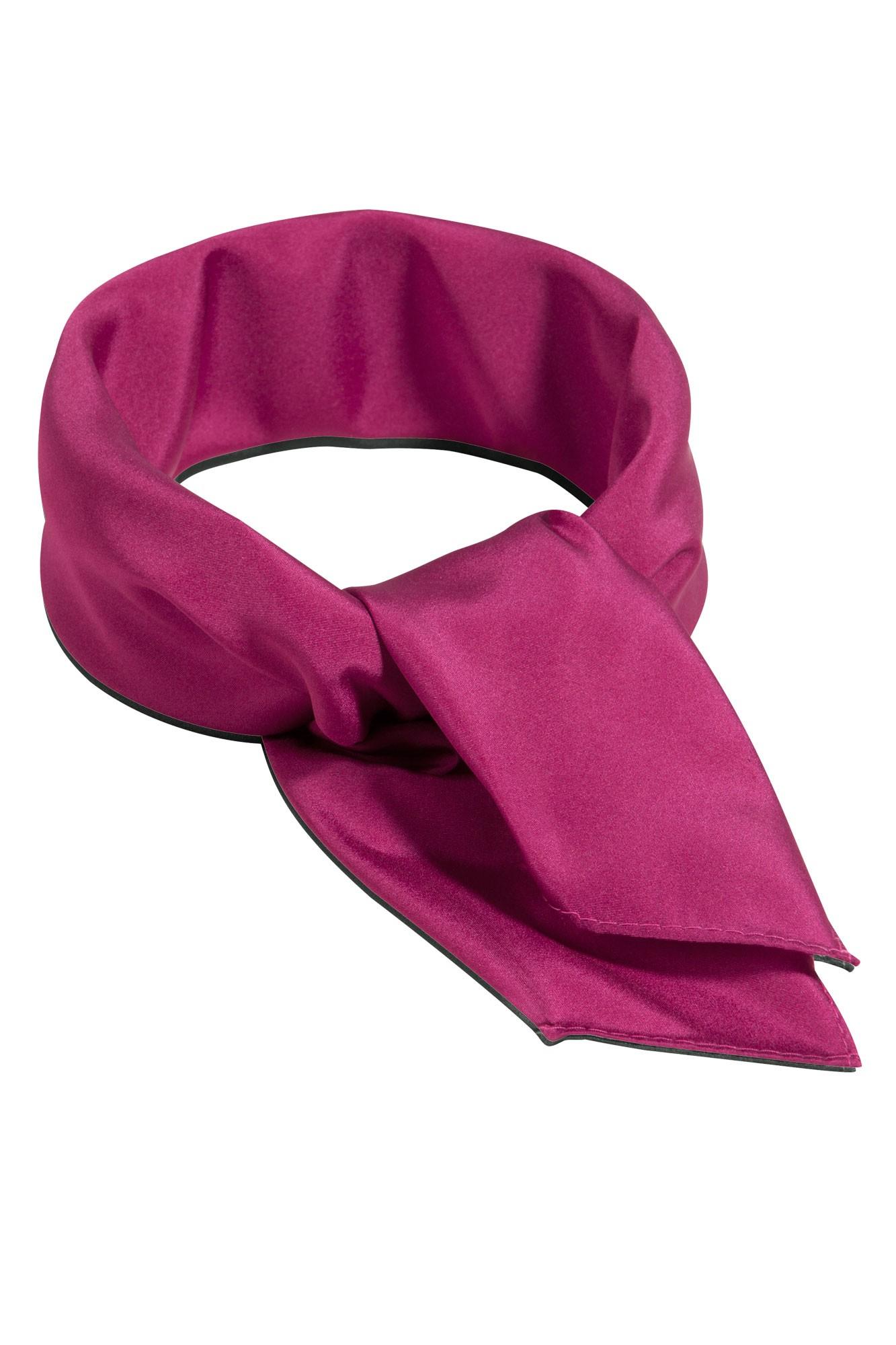 Šátek Uni - ostružinový